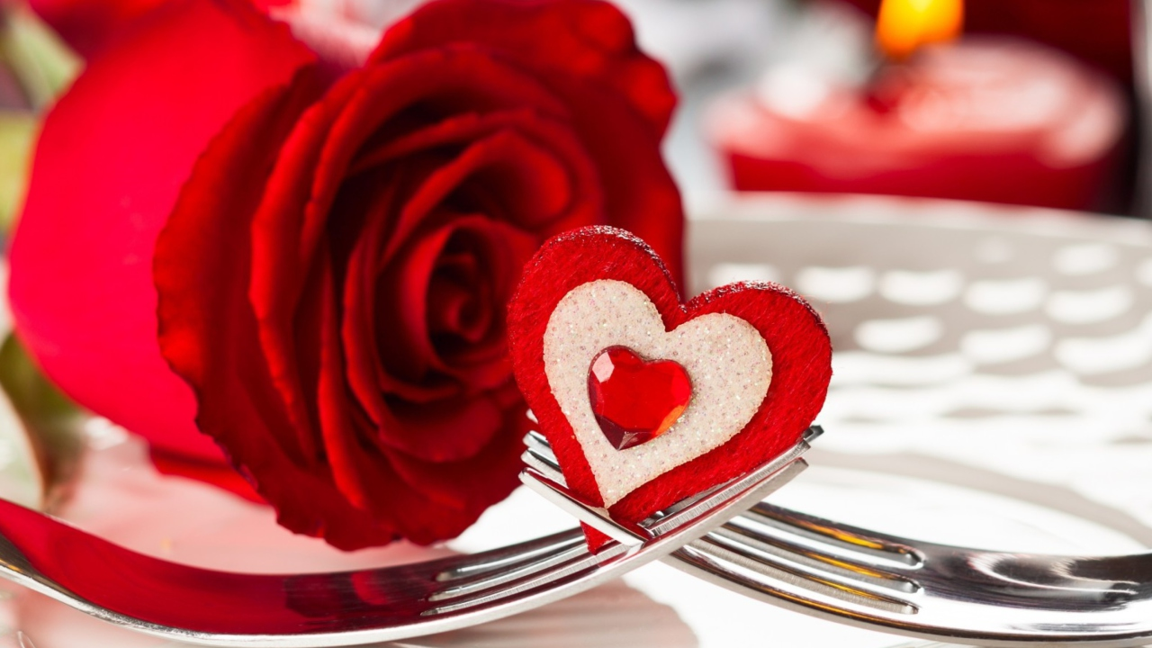 Heart On Fork