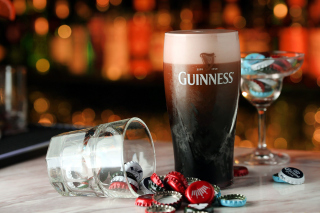 Guinness Beer Background for Desktop 1280x720 HDTV