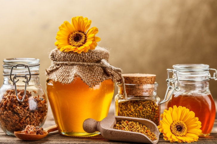 Fondo de pantalla Honey from Greek Farm