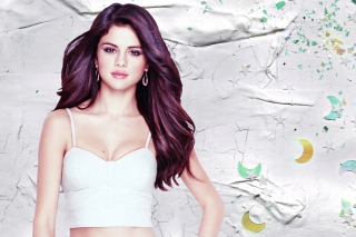 Selena Gomez Background for Android 480x800