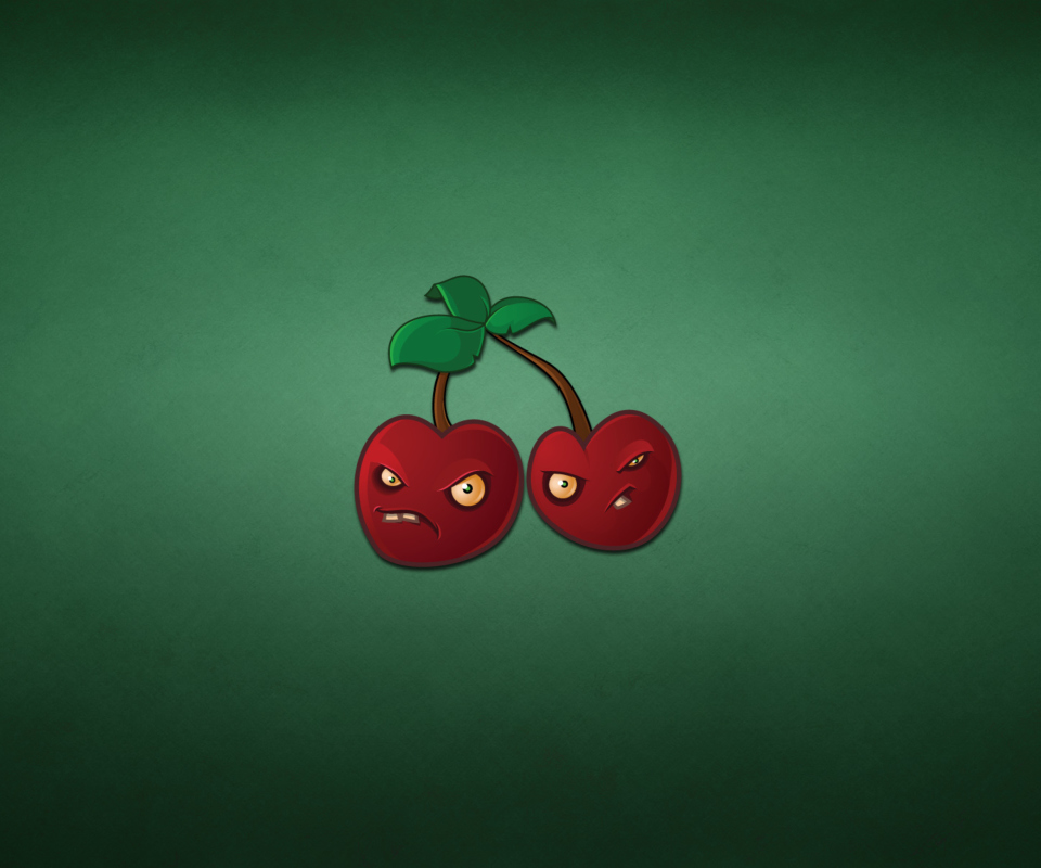 Love Wallpapers For Nokia Xl : Evil cherries Mobile Background for Nokia XL - Download Free Mobile Wallpapers at VividScreen