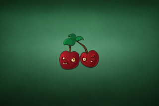 Evil Cherries Background for Android, iPhone and iPad