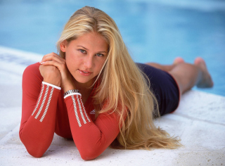 Anna Kournikova Wallpaper for Android, iPhone and iPad