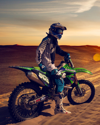 UAE Desert Motocross Picture for Nokia C-5 5MP