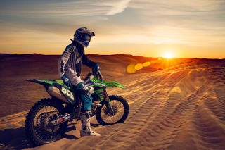 UAE Desert Motocross Wallpaper for Android, iPhone and iPad