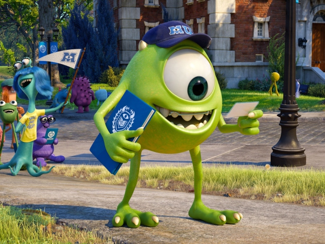 Monsters University for Sony Ericsson XPERIA X8