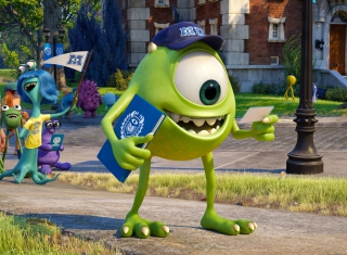 Monsters University Wallpaper for Android, iPhone and iPad