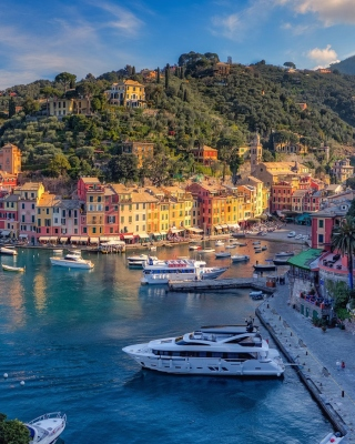 Portofino Wallpaper for 320x480