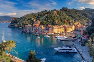 Portofino Background for Android, iPhone and iPad