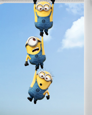 Despicable me 2, Minions sfondi gratuiti per iPhone 4S