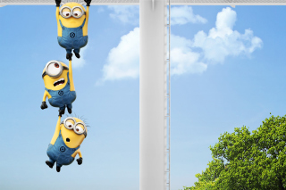 Despicable me 2, Minions Background for HTC EVO 4G