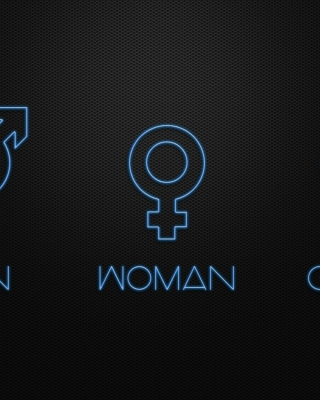 Man Woman Geek Signs sfondi gratuiti per Nokia Lumia 925