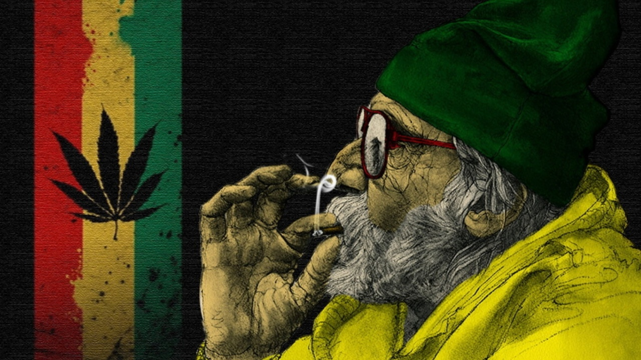 Rastafari and Smoke Weeds wallpaper 1280x720