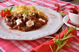 Hungarian Goulash Wallpaper for Nokia X2-01