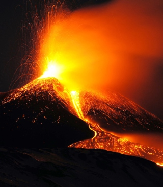 Eruption sfondi gratuiti per iPhone 4S