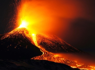 Eruption Wallpaper for Widescreen Desktop PC 1920x1080 Full HD