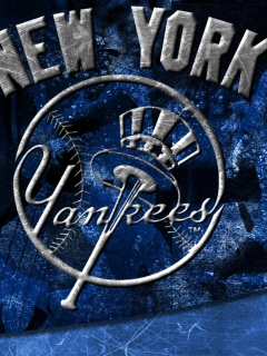 Screenshot №1 pro téma New York Yankees 240x320