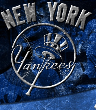 New York Yankees Background for Nokia C-5 5MP