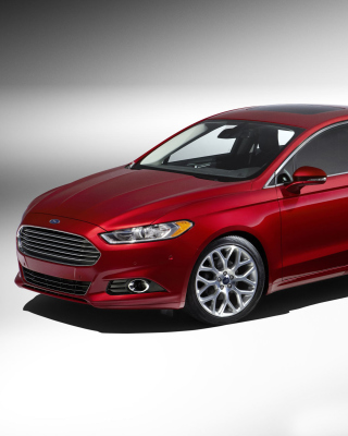Ford Fusion Background for 640x1136