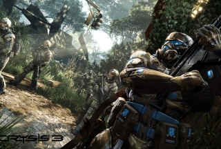 Crysis 3 Hunter Edition Wallpaper for 640x480