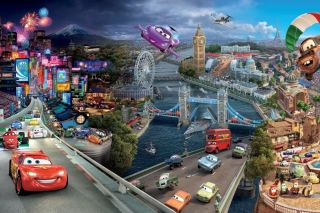 Cars 2 Wallpaper for Android, iPhone and iPad