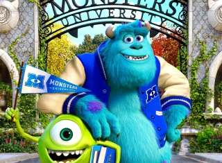 Monsters University Background for Desktop 1280x720 HDTV