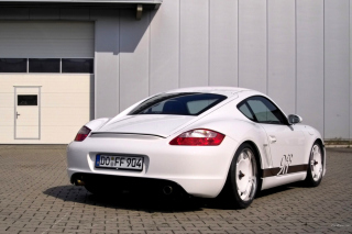 Porsche Cayman S Background for Android, iPhone and iPad