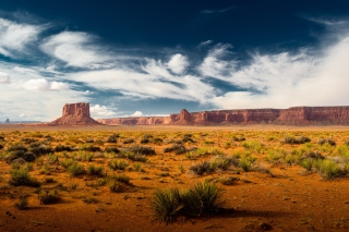 Desert and rocks Wallpaper for Desktop 1280x720 HDTV