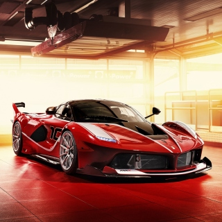 Ferrari FXX K Background for iPad mini