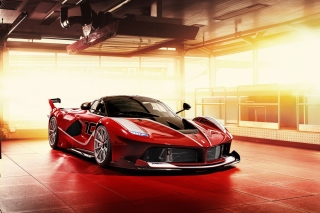 Ferrari FXX K Background for Android, iPhone and iPad