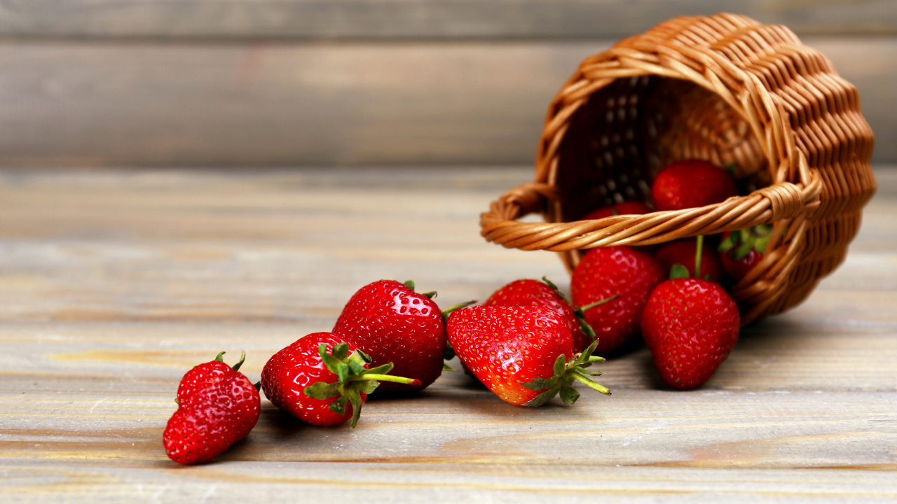 Screenshot №1 pro téma Strawberry Fresh Berries 1280x720