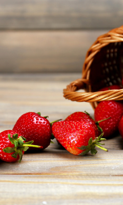 Screenshot №1 pro téma Strawberry Fresh Berries 240x400