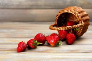 Strawberry Fresh Berries Background for Android, iPhone and iPad
