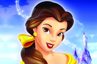 Kostenloses Beauty and the Beast Princess Wallpaper für Android, iPhone und iPad