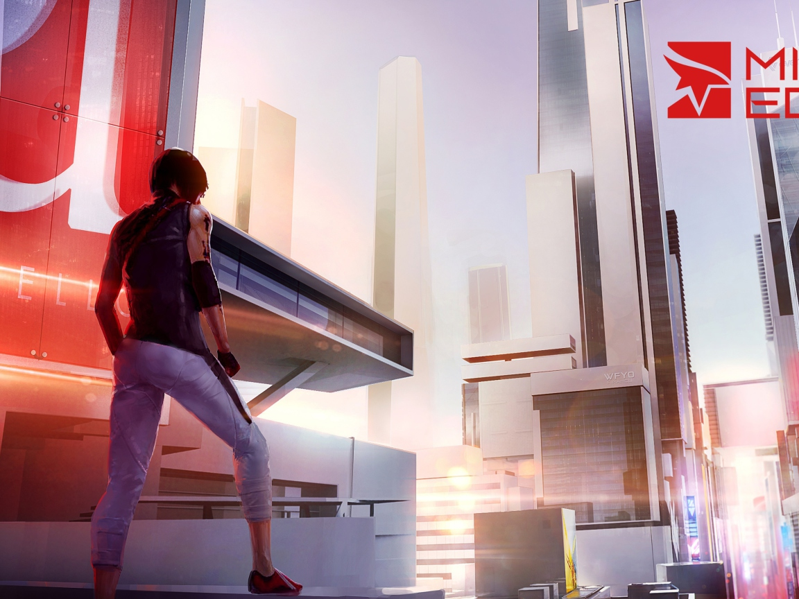 Screenshot №1 pro téma Mirror's Edge 2 New 1152x864