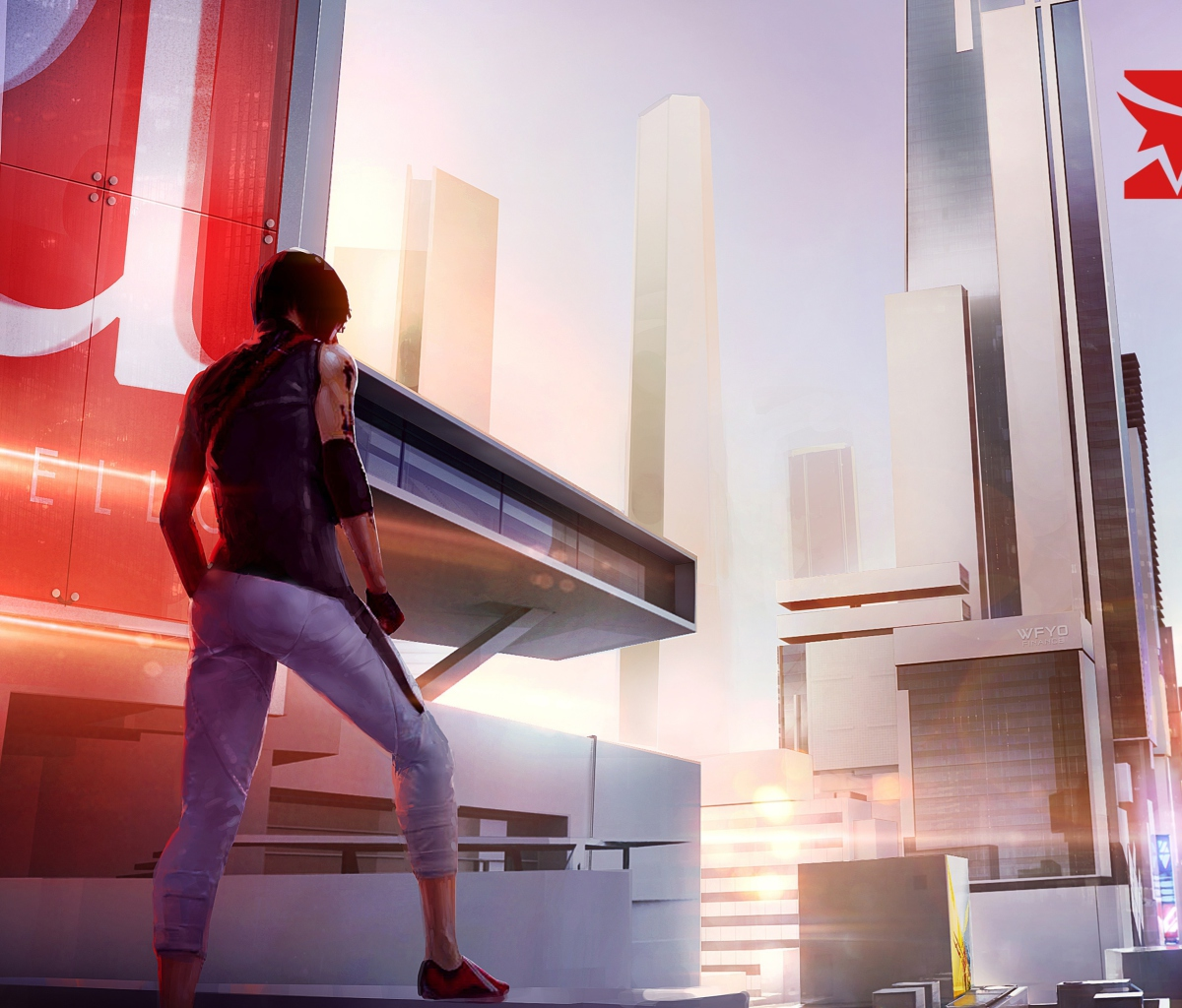 Screenshot №1 pro téma Mirror's Edge 2 New 1200x1024