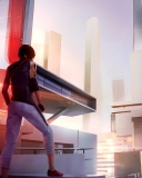 Screenshot №1 pro téma Mirror's Edge 2 New 128x160
