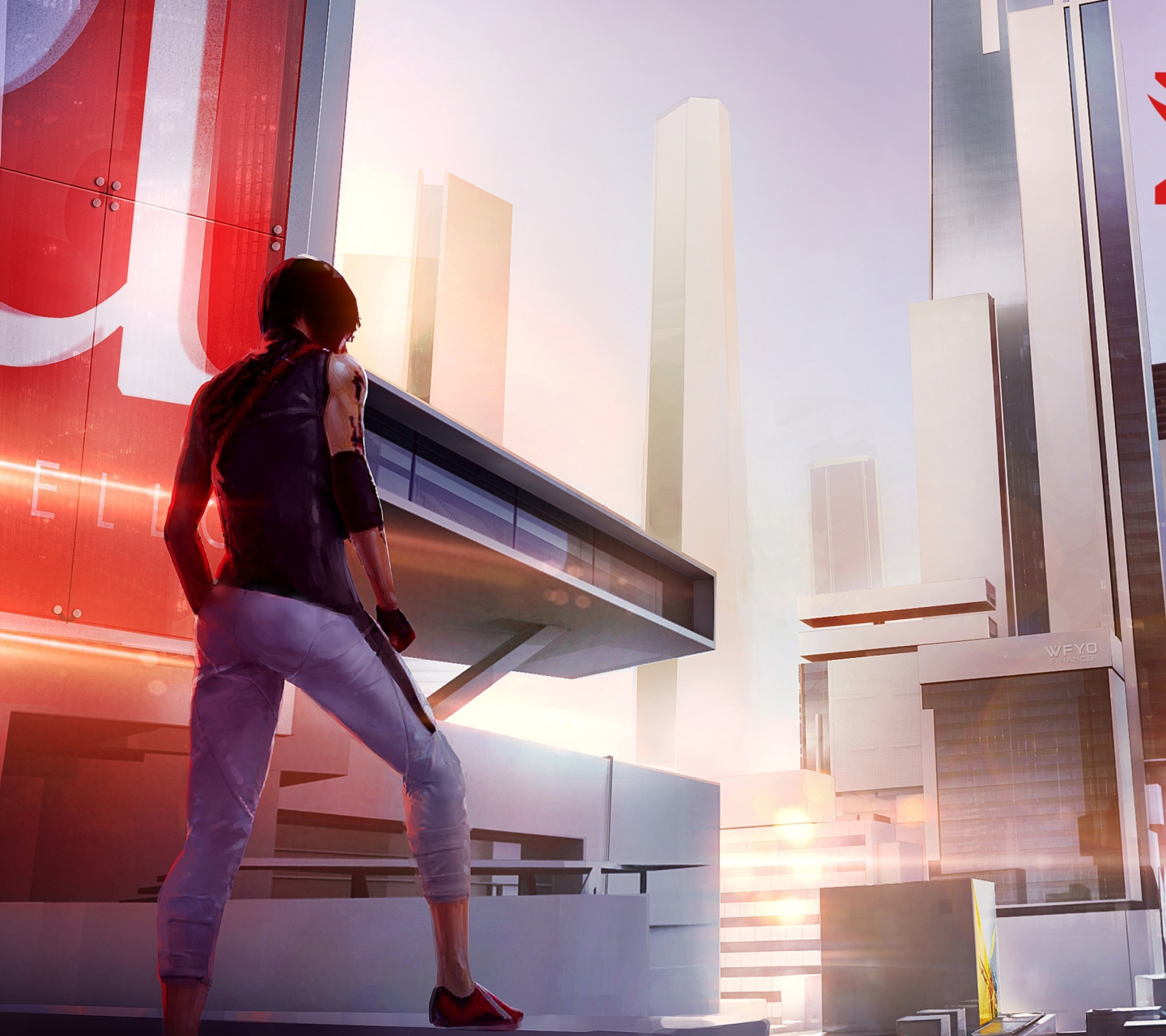 Screenshot №1 pro téma Mirror's Edge 2 New 1440x1280