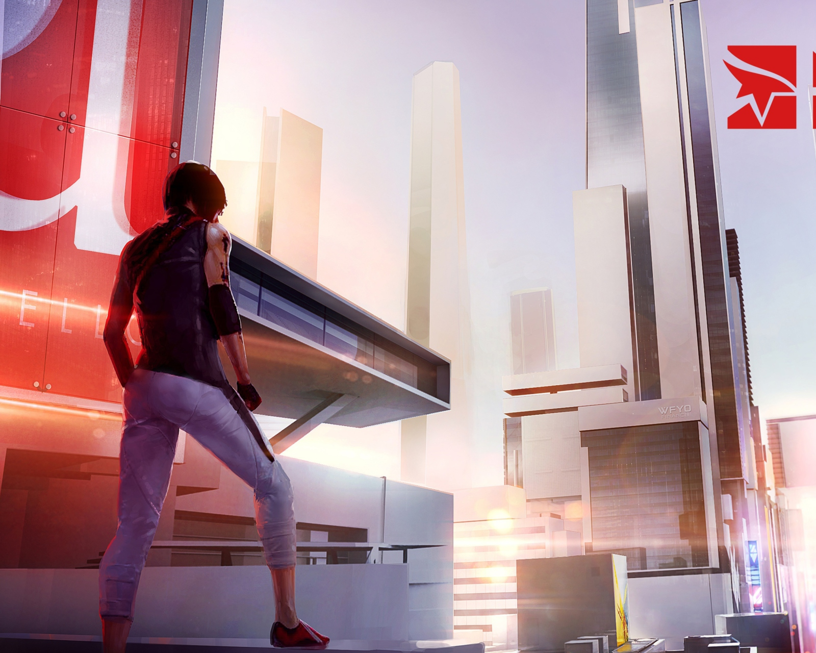 Screenshot №1 pro téma Mirror's Edge 2 New 1600x1280