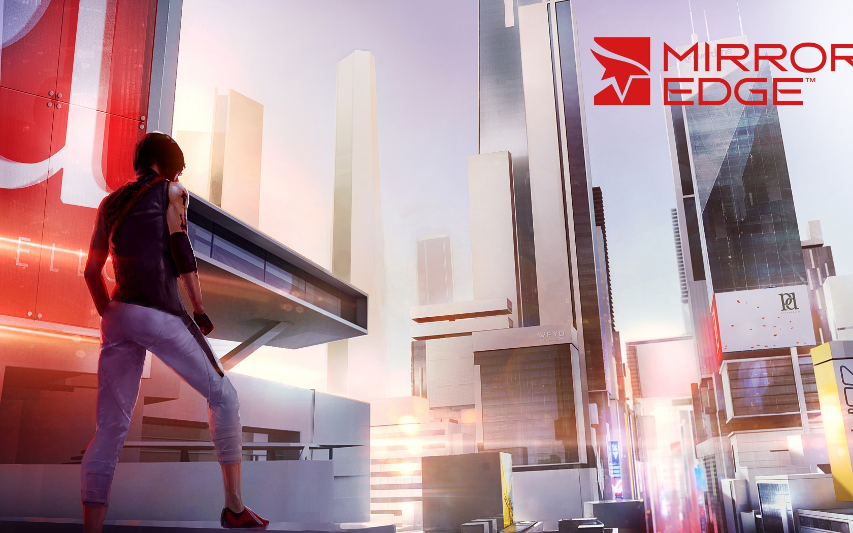 Screenshot №1 pro téma Mirror's Edge 2 New 1680x1050