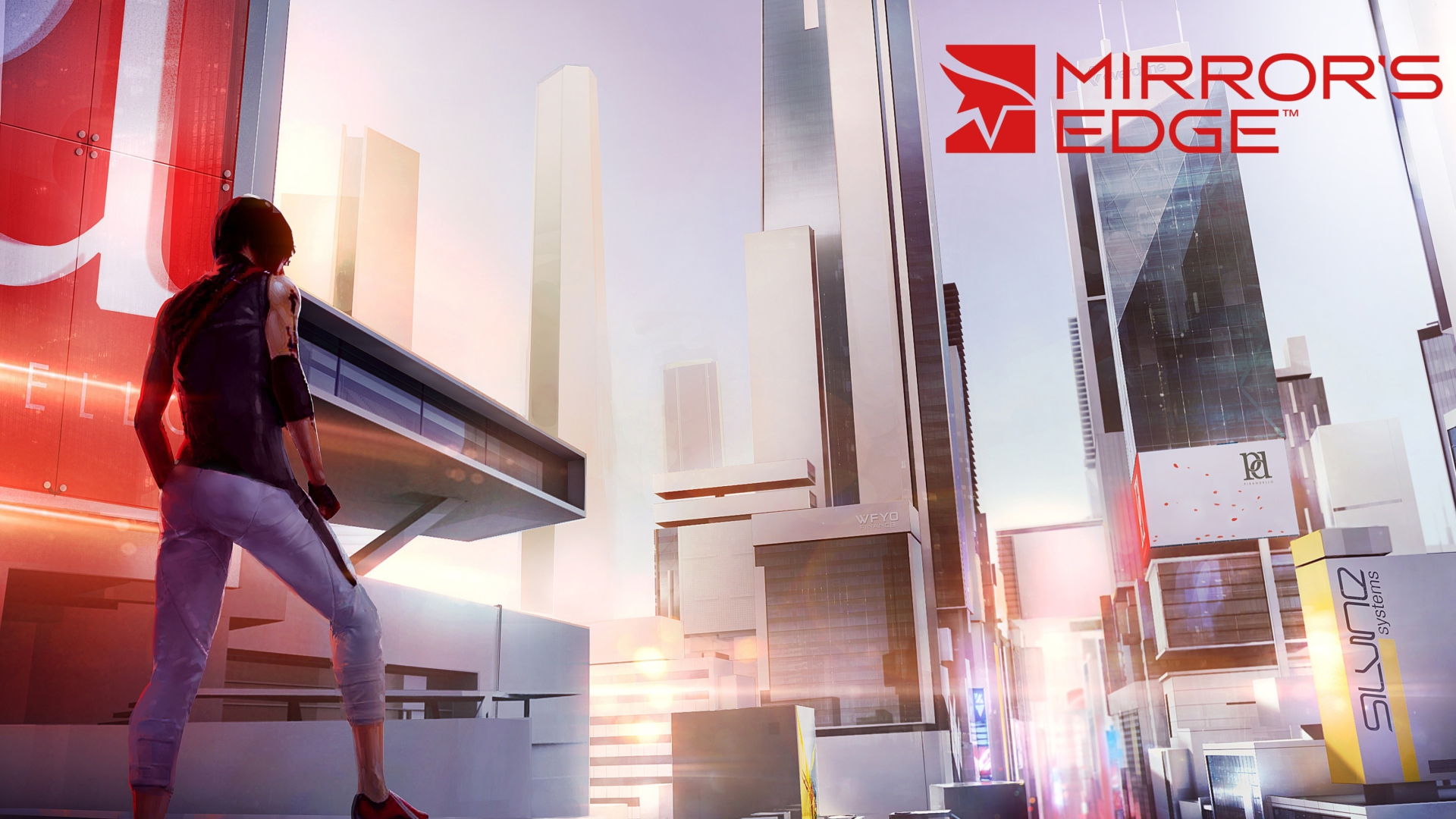 Screenshot №1 pro téma Mirror's Edge 2 New 1920x1080