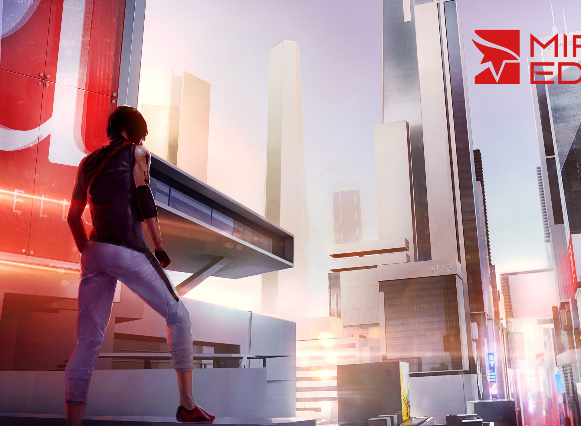 Screenshot №1 pro téma Mirror's Edge 2 New 1920x1408