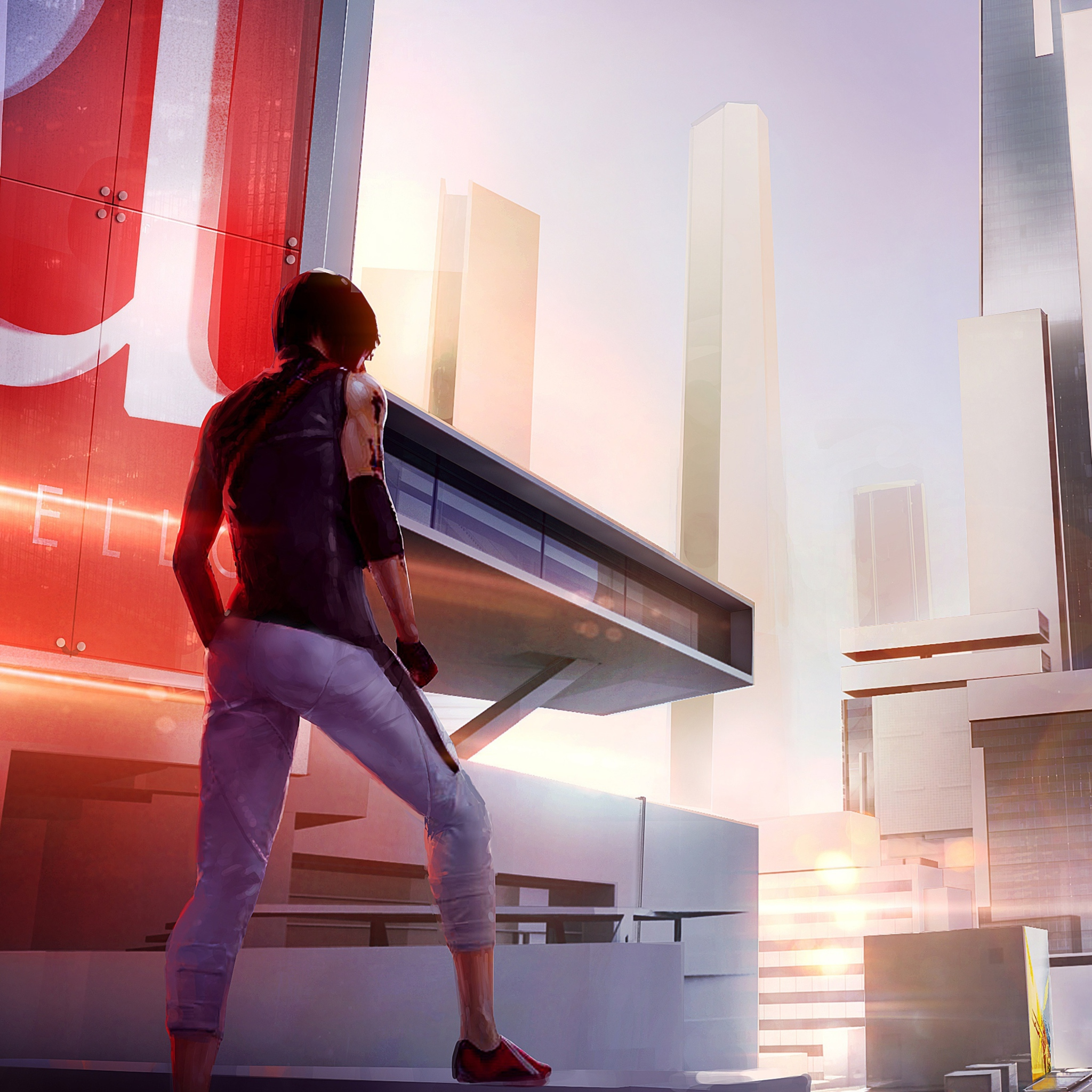 Screenshot №1 pro téma Mirror's Edge 2 New 2048x2048