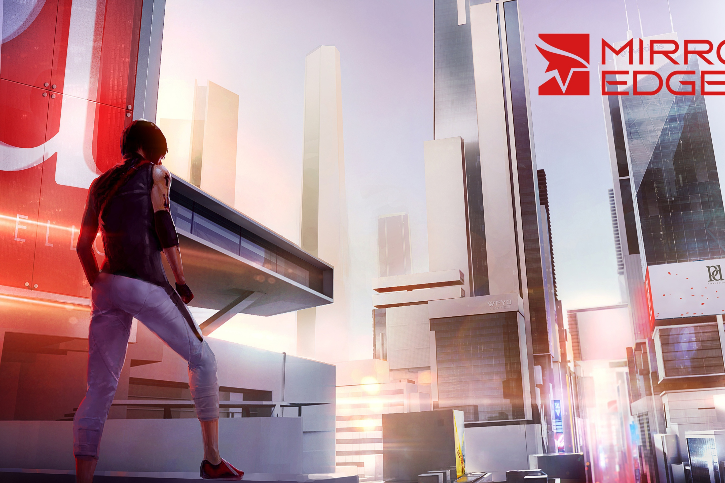 Screenshot №1 pro téma Mirror's Edge 2 New 2880x1920