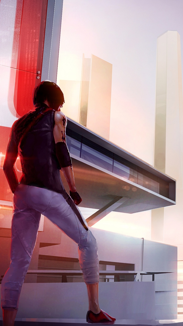 Screenshot №1 pro téma Mirror's Edge 2 New 640x1136