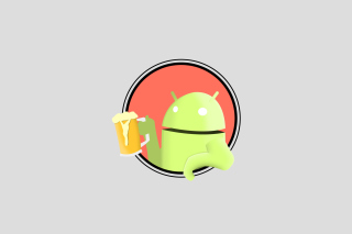 Free Beer Droid Picture for Android, iPhone and iPad