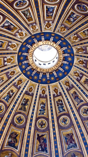 Das Papal Basilica of St Peter in the Vatican Wallpaper 360x640