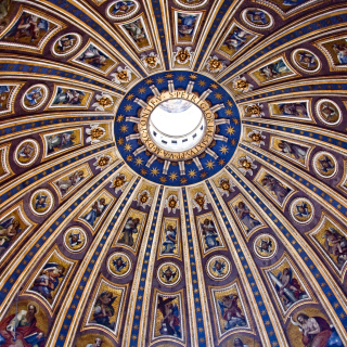 Papal Basilica of St Peter in the Vatican sfondi gratuiti per 1024x1024