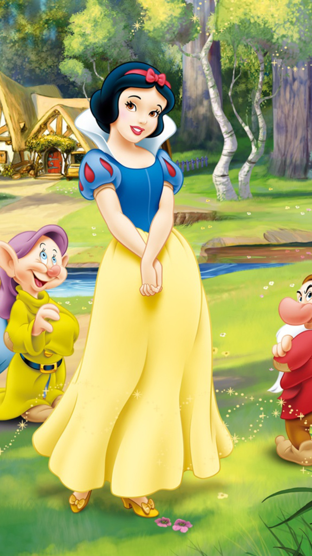 snow white and the seven dwarfs - HD1080×1920