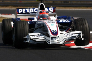 Robert Kubica Bmw Sauber F1 2007 Hungary Picture for Android, iPhone and iPad